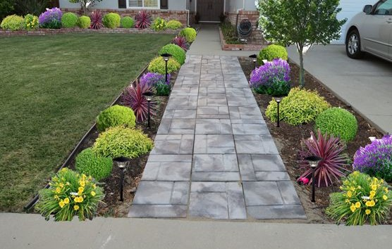 Flower Garden Entrance Ideas 6