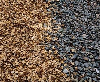 Mulch: Bark Vs Rock - JimsMowing com au