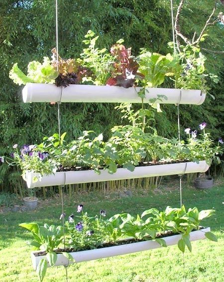 PVC Pipe Garden — Fit Into Any Space!
