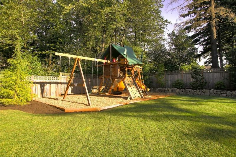 Add playing area for children